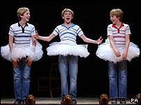 The stars of Billy Elliot