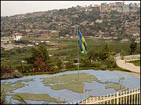 Genocide memorial in Kigali