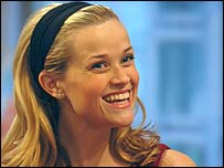 Reese Witherspoon in the Breakfast studio