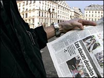 French daily newspaper France Soir