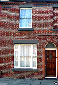 Ringo Starr's birthplace in Madryn Street, Dingle, Liverpool