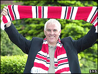 Clyde manager Graham Roberts