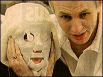 Paul Dadge with Davinia