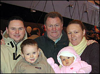 The Cameron family