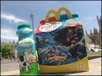 A McDonald's Happy Meal
