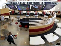 "A McDonald's ""flagship restaurant"" in the US"