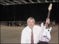 Millennium Stadium manager Paul Sergeant