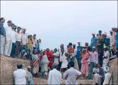 Villagers at Tatikal