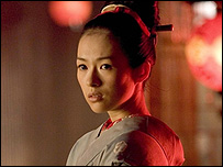Zhang Ziyi in Memoirs of a Geisha