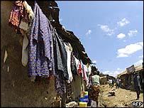 Daily life in Kenya's largest slum, Kibera