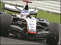 McLaren driver Kimi Raikkonen