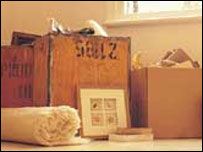 moving boxes - generic