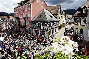 The route takes in some of Germany's more picturesque towns