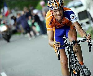 Pieter Weening makes his bid for glory