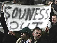 Newcastle fans never took to Souness