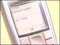 ICE phone
