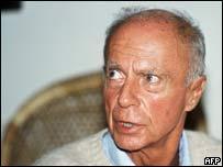French novelist Claude Simon