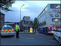 Police divert traffic from Birmingham city centre,