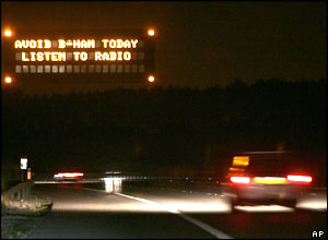 Motorists on the M40