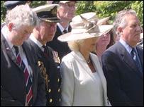 Rhodri Morgan, Prince Charles, Duchess of Cornwall and Peter Hain