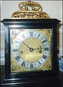 Exceptionally rare, early Thomas Tompion clock, c.1675