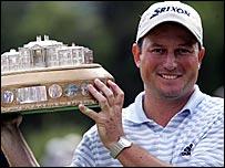 South Africa's Tim Clark won the Scottish Open at Loch Lomond last year