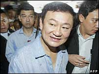 Thai Prime Minister Thaksin Shinawatra