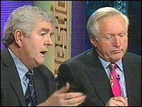 Rhodri Morgan on Question Time