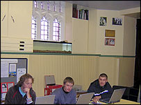 Computer class in the Booth Centre