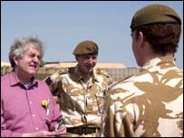 Rhodri Morgan in Iraq