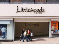 Littlewoods shop front
