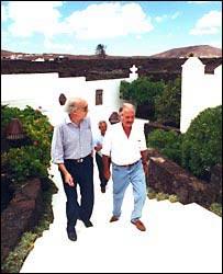 Fuentes y Saramago