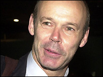 Lions coach Sir Clive Woodward pictured after the team arrived back at Heathrow