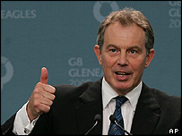 Prime Minister Tony Blair