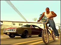 Screenshot of GTA: San Andreas