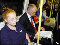 Ken Livingston on the Tube