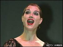 Brooke Shields as Roxie Hart in Chicago