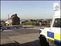 The shootings happened in north Belfast
