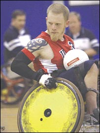 US Wheelchair Rugby star Mark Zupan