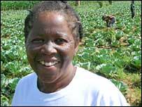 Zambian farmer Emily Miyanda