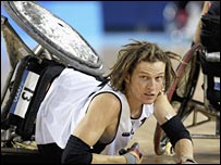 New Zealand wheelchair rugby player Dan Buckingham