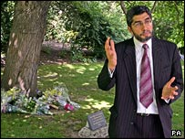 Iqbal Sacranie, secretary general of the Muslim Council of Britain