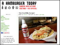 A Hamburger Today website