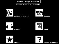 Cookie Dough Records website