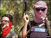 Miembros de la policía iraquí