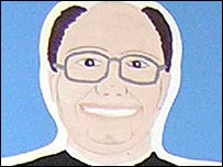 Pupil's picture of Father Martin Lee