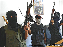 Al-Aqsa Martyr's Brigade gunmen stormed a government building in Gaza 10 days ago