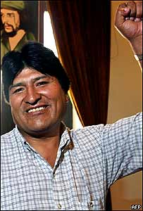 Presidente de Bolivia, Evo Morales.