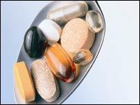 Imagen de vitaminas y minerales