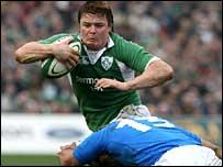 Ireland captain Brian O'Driscoll